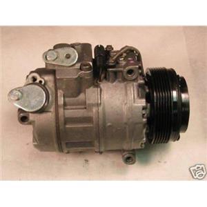 AC Compressor Fits 1998 - 2001 BMW 750iL (One Year Warr) Reman 157302