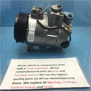 AC Compressor Fits Mercedes E350 SLK280 SLK300 SLK350 (1 year Warranty) R157317