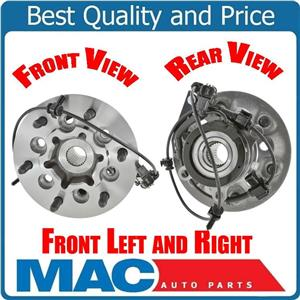 (2) 04-08 Colorado & Canyon 4x4 Left & Right Wheel Bearing and Hub Assembly