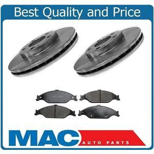 Front Brake Rotors & Ceramic Pads for Mustang 1999-2004