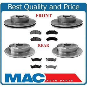 Brake Rotors & Ceramic Brake Pads for a 95-01 Ford 4 Door 4 Wheel Drive Explorer