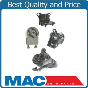 93-97 Mazda MX6 2.5L Manual Trans Engine and Manual Transmission Mounts 4pc Kit