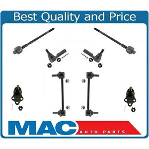 Brand New Set Tie Rods Sway Bar Links & Ball Joints For 96-04 Pathfinder & QX4