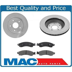Fits 1988-1995 Corvette With 12 Inch Front Brake Rotors & Ceramic Pads 3pc Kit