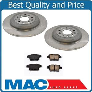 2 Rear Brake Rotors Ceramic Pads For Ford Five Hundred Freestyle Mac Auto Parts