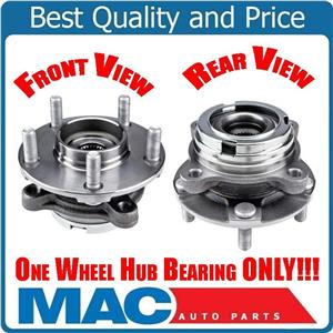 Fits For 09-16 Nissan GT-R (1) 100% New Tested Front Wheel Bearing Hub Assembly