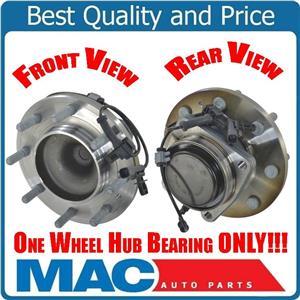 For 11-15 Silverado 3500HD Rear Wheel Drive Dual Rear Wheels (1) Frt Hub Bearing