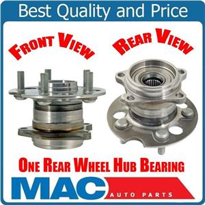 (1) Rear Wheel Bearing & Hub Assembly Fits 07-10 Sienna All Wheel Drive REAR