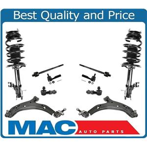 Control Arms & Ball Joint Tie Rods Sway Spring for Nissan Sentra 1.8L 02-06