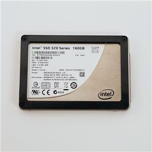 """Intel 320 Series 160GB 2.5"""" 3Gb/s SATA MLC SSD SSDSA2CW160G3 Solid State Drive"""