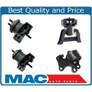 95-02 Mazda Millenia 2.3L 4 Piece Engine Motor Transmission Mount Kit