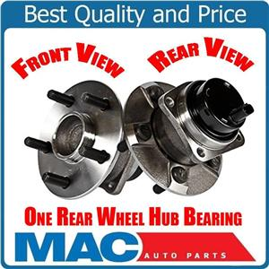 (1) REAR WHEEL BEARING AND HUB ASSEMBLY Fits 04-2009 Prius Rear All