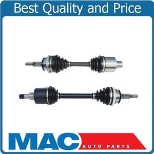 (2) 100% New CV Drive Axle Shaft  Brand New Premium Quality Torque Tested AX4N