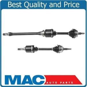 (2) 100% New CV Drive Axle Shafts for 93-95 Volvo 850 Turbo With Manual Trans