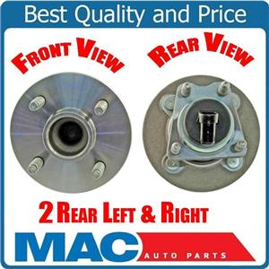 2 /  New WHEEL BEARING AND HUB ASSEMBLY For 05-10 Cobalt WITH ABS BRAKES 4 STUD