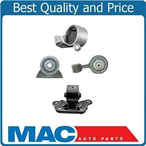 Fits 03-06 Mitsubishi Lancer 2.0L Turbo Manual Transmission 4 Pcs Engine Mounts