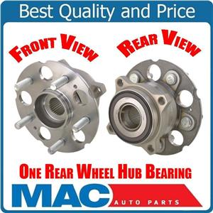 1 100% New Rear Wheel Bearing Hub Assembly For 10-15 Crosstour All Wheel Drive