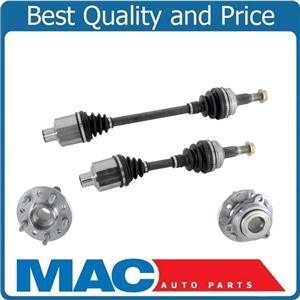 98-04 300M 2 100% New Front Left & Right CV Drive Axle Shafts With Hub & Bearing