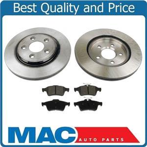 06-09 VADEN PLAS SUPER V8 Premium Rear Brake Rotors Rotor & Pads