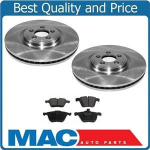 06-09 Jaguar SUPER V8 Premium FRONT Brake Rotors Rotor & Pads