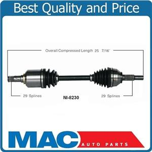 100% New CV Drive Axle Shaft Complete for 07-08 Nissan Mazima P/S Front
