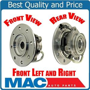 2/ 100% New Axle Bearing  Hub Assembly Front GM 8 Stud 4x4 96-00 K2500 Pick Up