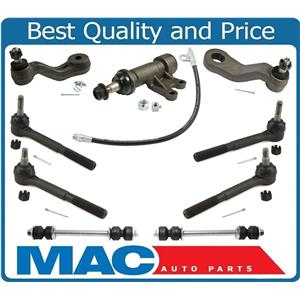 for 95-99 Tahoe 4 Wheel Drive Tie Rod links I Arm Pitmam With Greasable Bracket