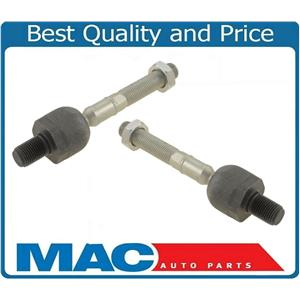 (2) 100% New Left & Right INNER Tie Rod Ends for Volvo XC70 XC90 Models 04-14