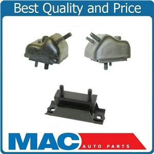 Engine Motor Mount Tranmissions Mount Kit 3Pc For 86-90 Bronco II 2.9