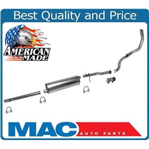 """Muffler Exhaust System MADE IN USA for Ford F150 4.9 with 138"""" Wheel Base 1996"""