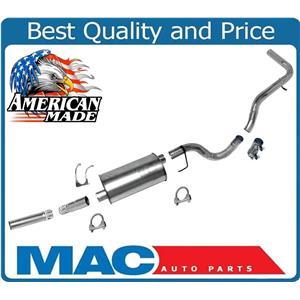 """Muffler Pipe Exhaust System for Dodge Dakota Pickup 112 & 124"""" Wheel Base 92-96"""