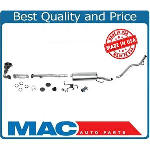 Rear Converter Middle Muffler Tail Pipe for Toyota Tacoma 2.7L Regular Cab 95-99
