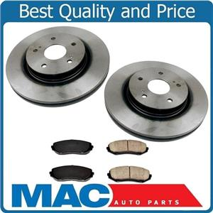 New Front Brake Rotors With Ceramic Brake Pads for Suzuki Grand Vitara 2006-2013