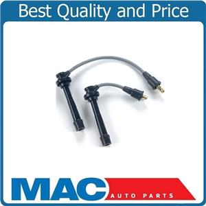 100% New Spark Plug (2)  Ignition Wires For 99-02 Chevrolet Tracker 1.6L