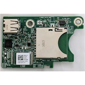 Dell Internal Dual SD Media Card Reader For M520 M620 Server F5G99