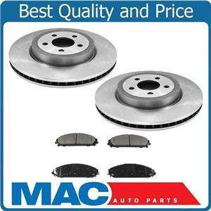 05-16 Chry 300 All Wheel Drive 345MM Front Disc Brake Rotor & Ceramic Brake Pads