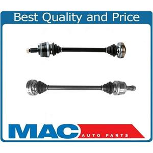 (2) 100% New Complete  BMW REAR CV AXLES CV Joint Shafts for 99-12 328i All New