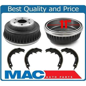 Rear 11 Inch Drums Brake Shoes for GMC C2500 3/4 TON Rear Wheel Drive Only 88-99