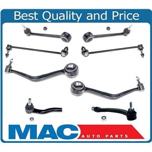Low Rr & Frt Control Arms Bushings Ball J Sway Bar Tie Rods for 11-13 Caprice 8p