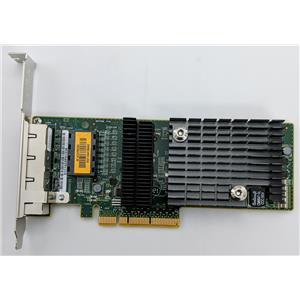 Sun Micro ATLS1QGE PCIe Quad Port Network Adapter 511-1422 Tested High Profile