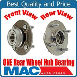 One New Rear WHEEL BEARING AND HUB for Nissan Altima 93-01 Without ABS Brakes