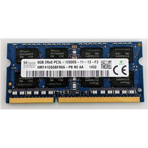 Hynix 8GB PC3-12800S DDR3-1600 nonECC Unbufferd SODIMM 1.35V HMT41GS6BFR8A-PB