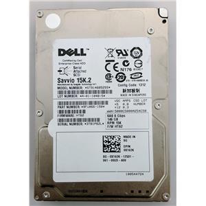 "Dell X162K Seagate ST9146852SS 146GB 16MB 6.0Gbps 15K 2.5"" SAS Hard Drive"