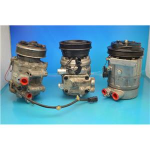 AC Compressor For Mercedes 300, 400, 500, E320, E420, E500, Sl500 (Used) 77343