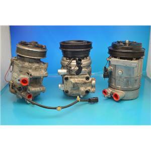 AC Compressor For 1998 Saturn Sc1 Sc2 Sl Sl1 Sl2 Sw1 Sw2 (Used) 57529