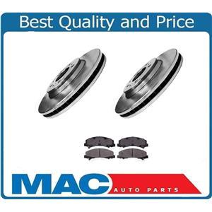 Front Brake Rotor & Front Ceramic Brake Pads for Buick Lucerne 2006-2011