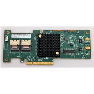 IBM 81Y4449 ServeRaid M1115 SAS/SATA Adapter RAID Card No Bracket SAS9223-8i
