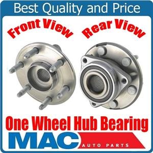 (1) 100% New Front or Rear Hub and Wheel Bearing Assembly for 07-16 GMC Arcadia