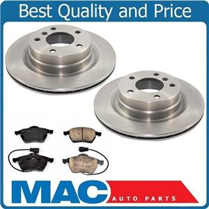 100% New Front Brake Rotors Pads Audi A8 & A8 Quattro 97 to Pro date 08/19