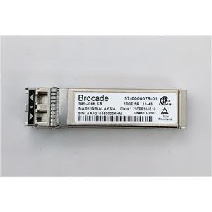 Genuine Brocade 10GbE SR SFP Ethernet Transceiver 57-0000075-01 850nm XBR-000180